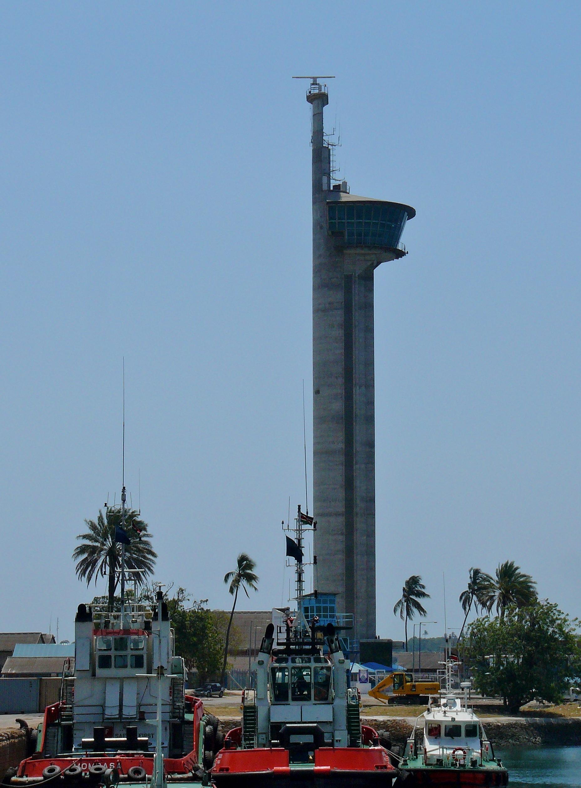 Harbour tower Mombassa Kenya
